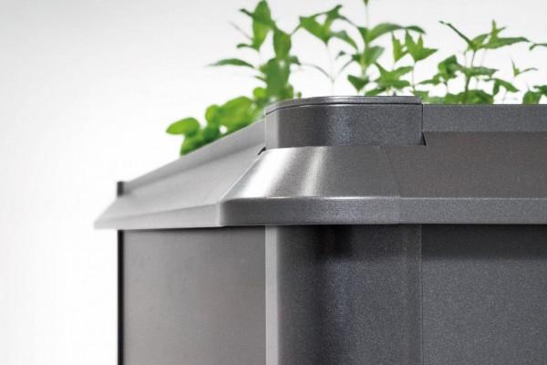 Biohort Schneckenschutz für HochBeet 2x1 dunkelgrau-metallic