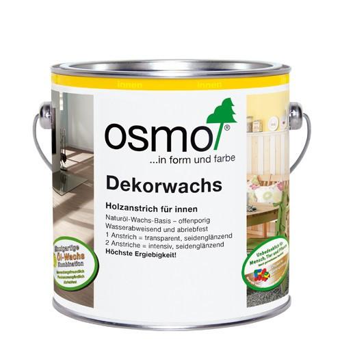 Osmo Dekorwachs transparente Farbtöne Weiß 3111 2,5l
