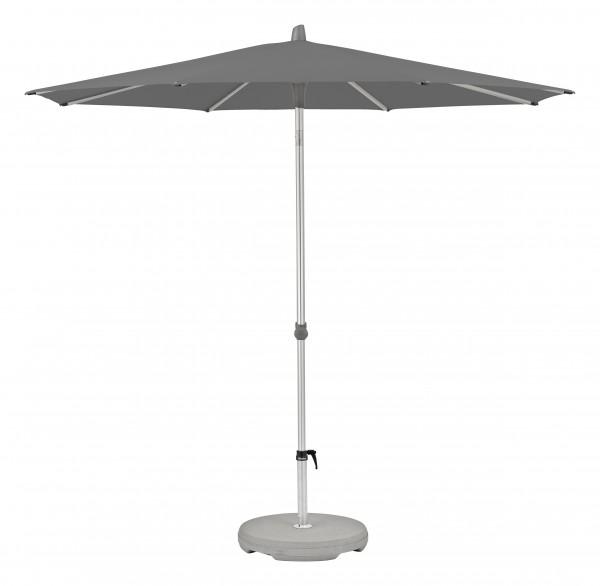 Glatz Sonnenschirm Alu Smart 250 cm, SK 2, Des. 157, stone grey, ohne Befestigung