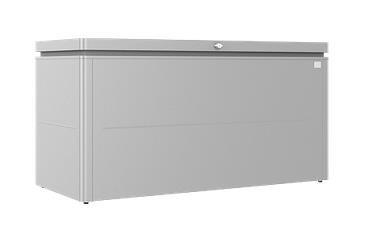 Biohort LoungeBox Gr. 160 silber-metallic