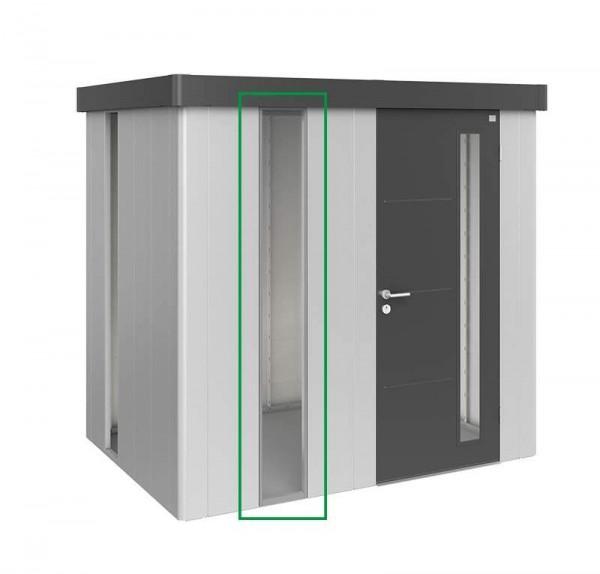 Getöntes Lichtpaneel Gerätehaus Neo, quarzgrau-metallic