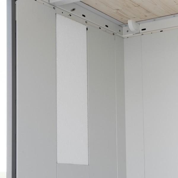 Isolierung Gerätehaus Neo 1A Standardtür / 1B Doppeltür