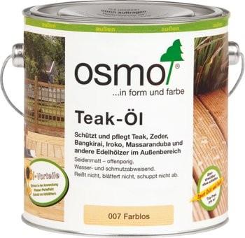 Osmo Terrassen-Öle Teak-Öl Farblos 007 2,5l