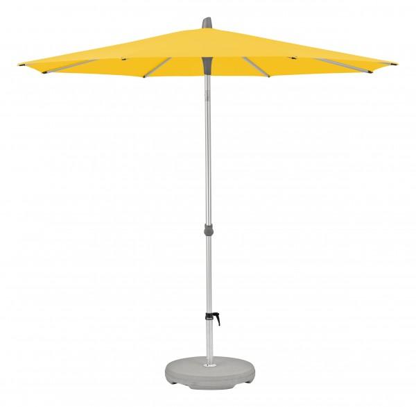 Glatz Sonnenschirm Alu Smart 220 cm, SK 2, Des. 146, yellow, ohne Befestigung