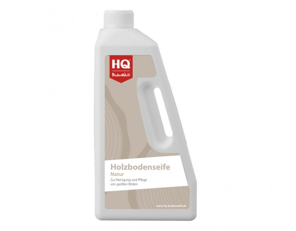 HQ Holzbodenseife Natur (750ml)