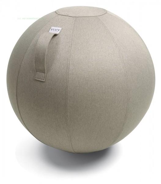 VLUV Leiv Stoff-Sitzball, Stone, Größe Ø 70-75 cm
