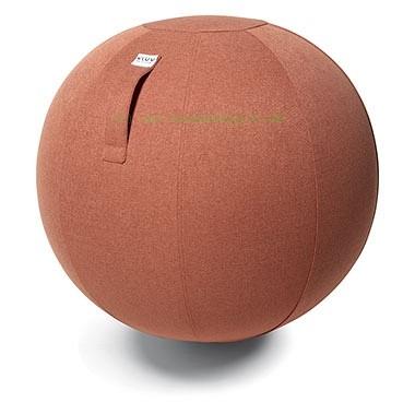 VULV SOVA Stoff-Sitzball, Salomon, Größe Ø 60-65 cm, ergonomisches Sitzen und Rückentraining in eine