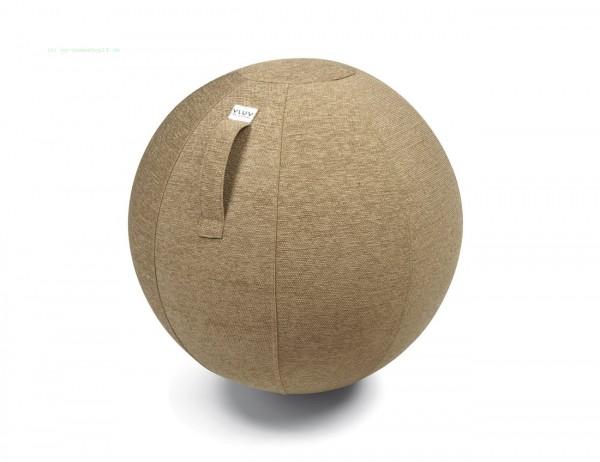 VLUV STOV Stoff-Sitzball, Macchiato, Größe Ø 60-65 cm
