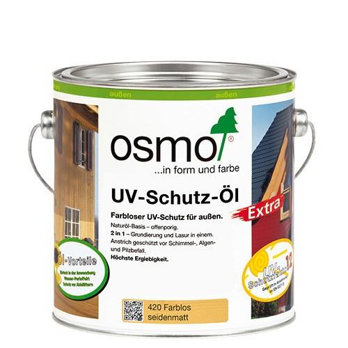Osmo UV-Schutz-Öl Extra Farblos Seidenmatt mit Filmschutz 2,5l