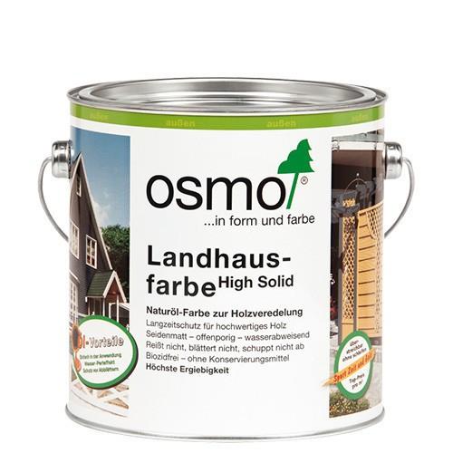 Osmo Landhausfarbe Taubenblau 2507 2,5l