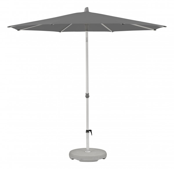 Glatz Sonnenschirm Alu Smart 300 cm, SK 2, Des. 157, stone grey, ohne Befestigung