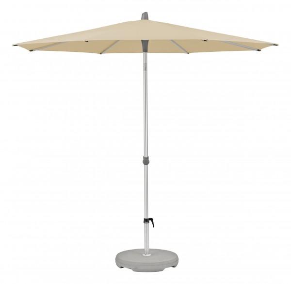 Glatz Sonnenschirm Alu Smart 220 cm, SK 4, Des. 422, creme, ohne Befestigung