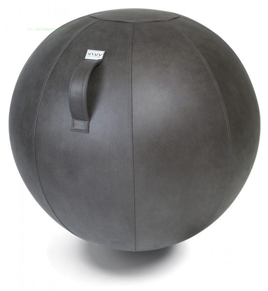 VLUV VEEL Kunstleder-Sitzball, Elephant, Größe Ø 60-65 cm