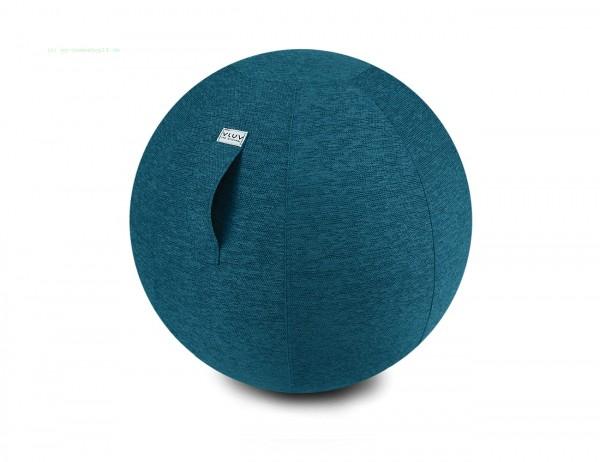 VLUV STOV Stoff-Sitzball, Petrol, Größe Ø 60-65 cm