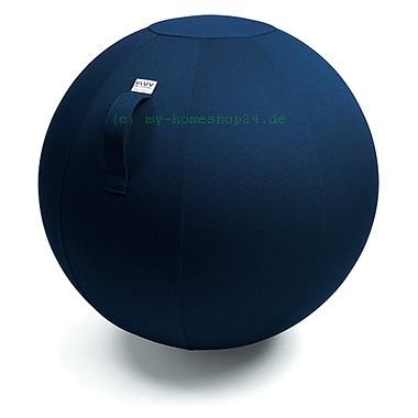 VLUV Leiv Stoff-Sitzball, Royal Blue, Größe Ø 70-75 cm