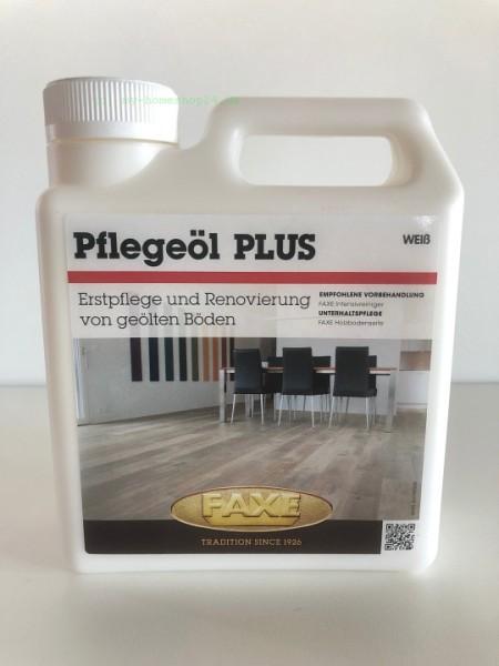 Faxe Pflegeöl Plus weiß, 1 Liter