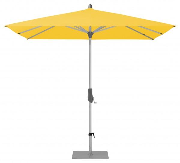 Glatz Sonnenschirm Alu Twist 240x240 cm, SK 2, Des. 146, yellow, ohne Befestigung
