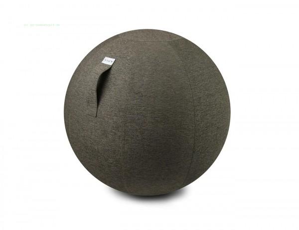 VLUV STOV Stoff-Sitzball, Greige, Größe Ø 70-75 cm