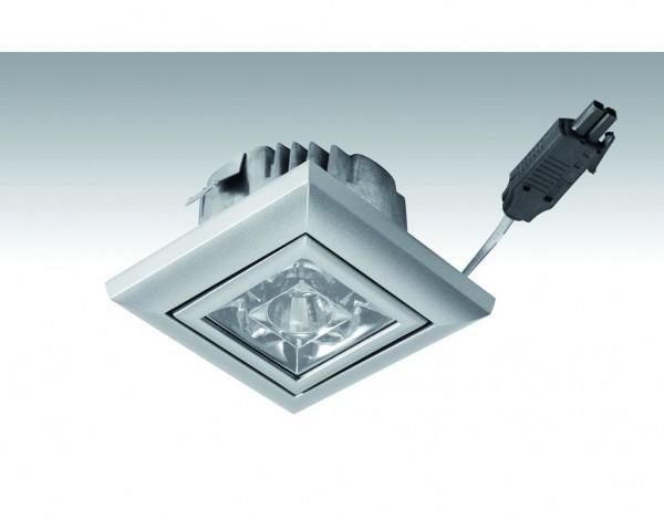 Niedervolt NV-LED-Downlight-Quadro 3,7 Watt 249 Titan