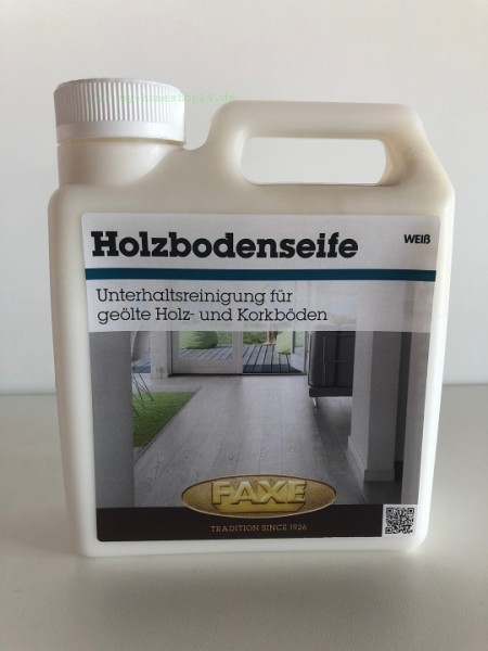 Faxe Holzbodenseife weiß 1 Liter