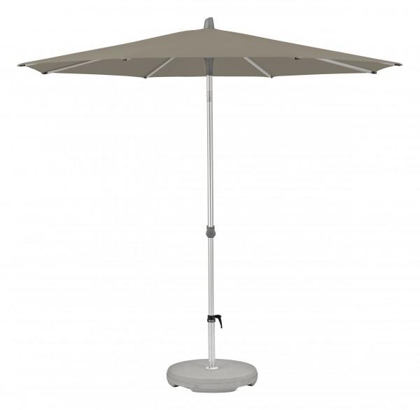 Glatz Sonnenschirm Alu Smart 250 cm, SK 4, Des. 461, taupe, ohne Befestigung