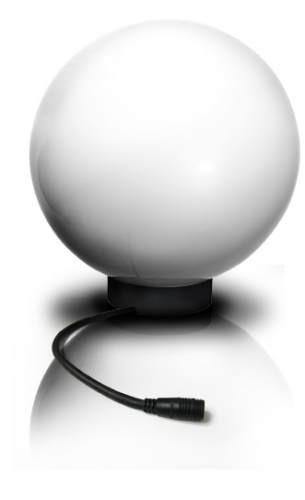 Easy Connect Kunststoff-Lichtkugel Ø 35 cm, weiß, Halogen 40 W