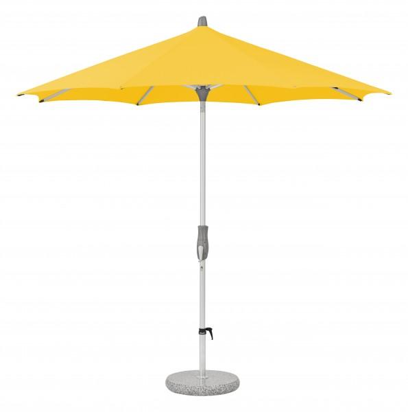 Glatz Sonnenschirm Alu Twist 270 cm, SK 2, Des. 146, yellow, ohne Befestigung