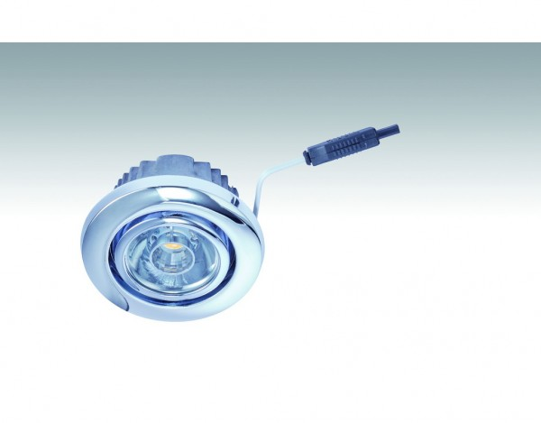 Niedervolt NV-LED-Downlight 3,7 Watt 242 Chrom