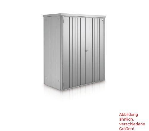 Biohort Geräteschrank Gr. 230 silber-metallic