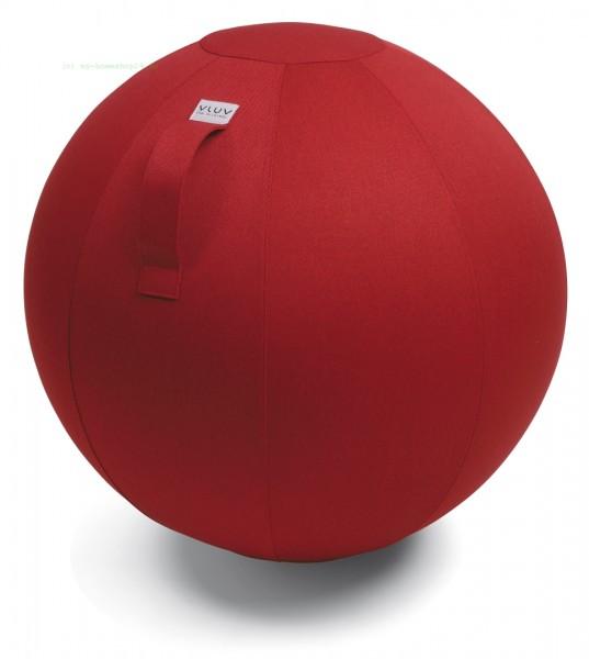 VLUV Leiv Stoff-Sitzball, Ruby, Größe Ø 60-65 cm